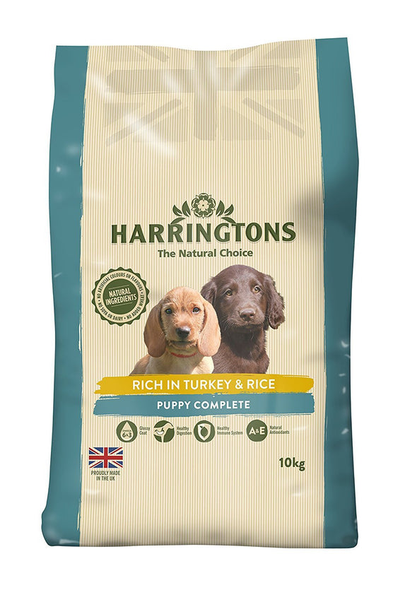 Harrington's Puppy Food Complete Rich In Turkey and Rice 10 Kg - DogSmart.ie