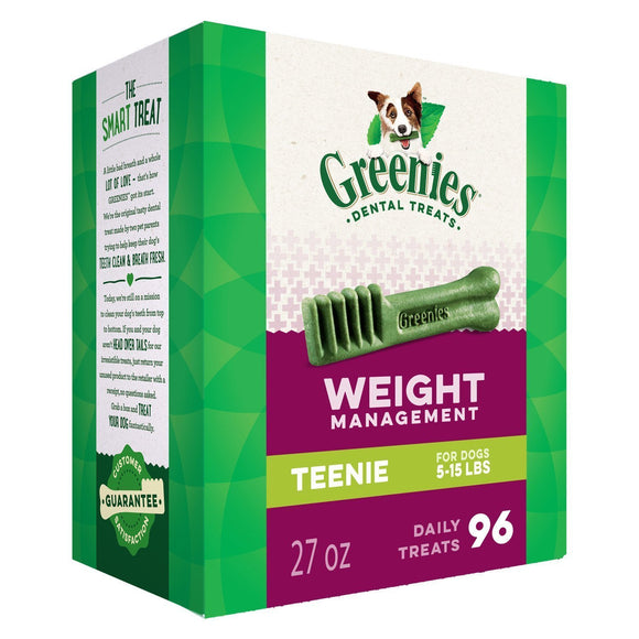 GREENIES Weight Management Dental Chews - DogSmart.ie