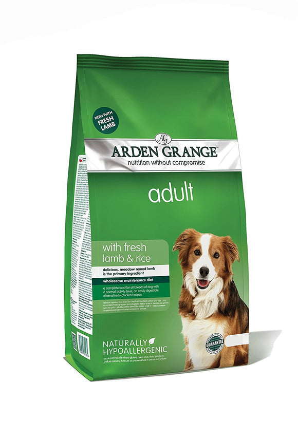 Arden Grange Lamb and Rice Adult Dog Food - DogSmart.ie
