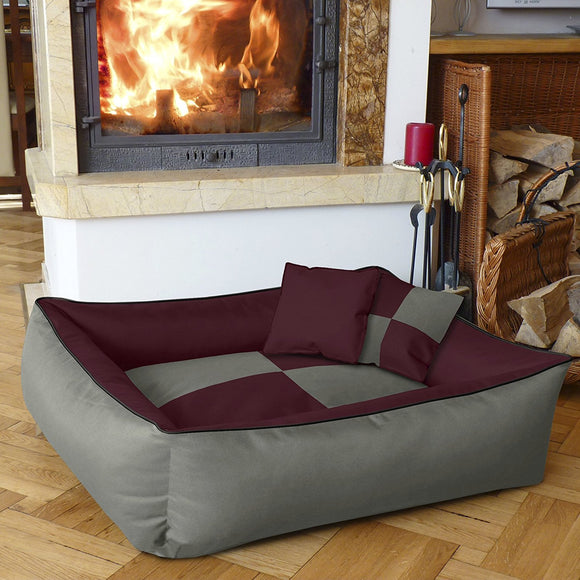 Dog Bed MAX QUATTRO 2 in 1 Anthracite/Grey - DogSmart.ie