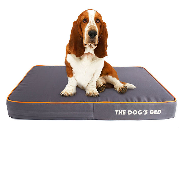 Dog's Bed, Premium Orthopedic Waterproof Memory Foam - DogSmart.ie