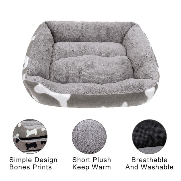 Eco Friendly Four Seasons Dog Bed - DogSmart.ie