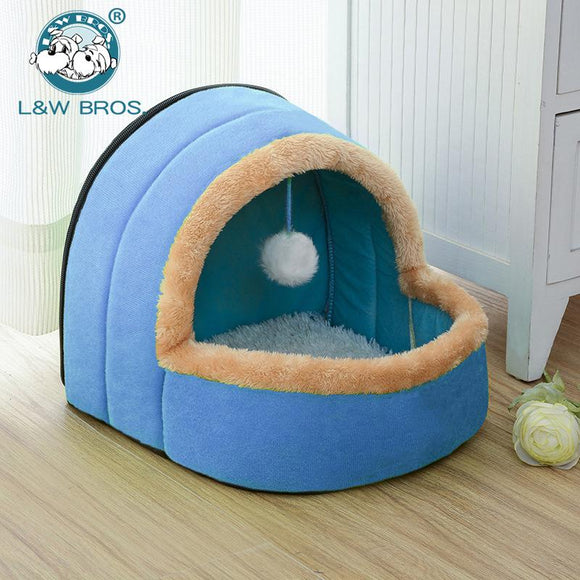 Foldable Summer Breathable Puppy House Bed 100% Cotton - DogSmart.ie