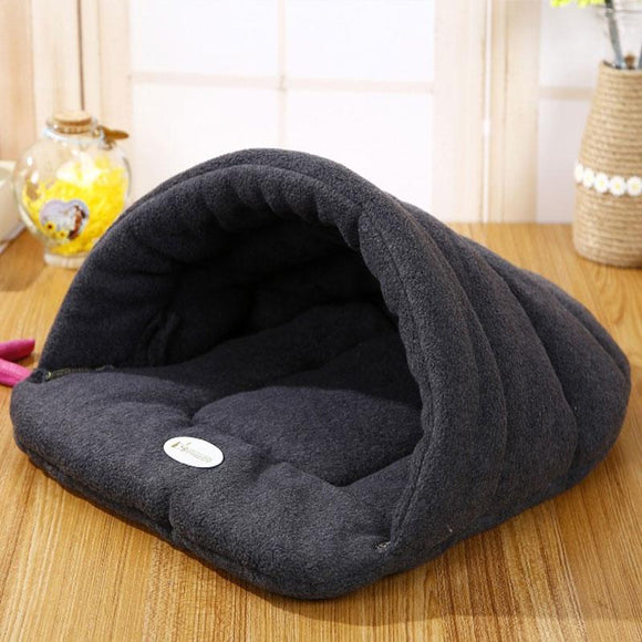 High Quality Warm Slipper Style Dog Bed - DogSmart.ie