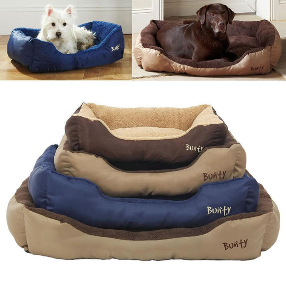 Bunty Deluxe Soft Washable Dog Bed with Fleece lining - DogSmart.ie