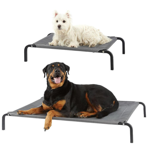 Bunty Elevated Dog Pet Bed Portable Waterproof Outdoor - DogSmart.ie