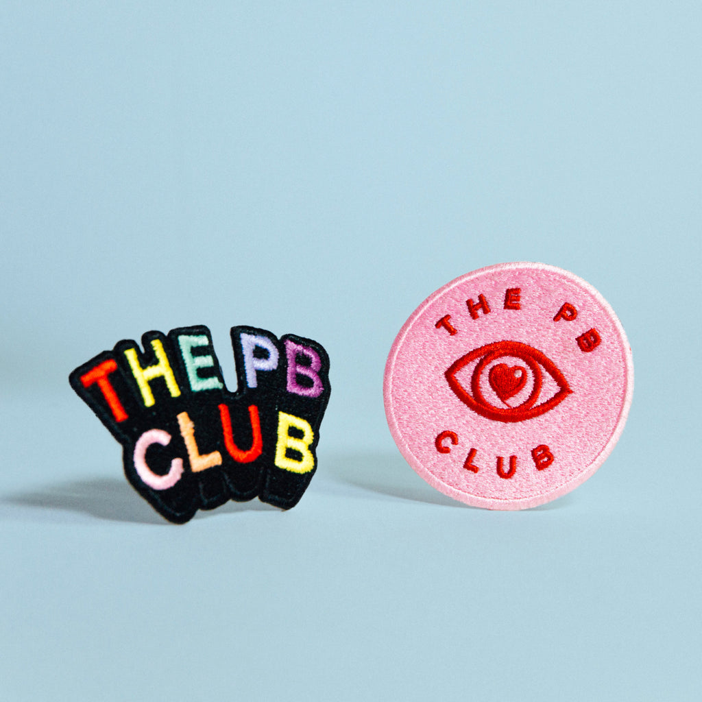 The PB Club Iron On Patch Set
