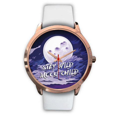 Stay Wild Moon Child Rose Gold Watch