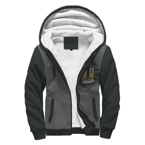 Image of Unbelievable Don't Tread On Me Hoodie Jacket