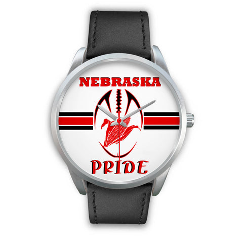 Image of Nebraska Pride Silver Watch