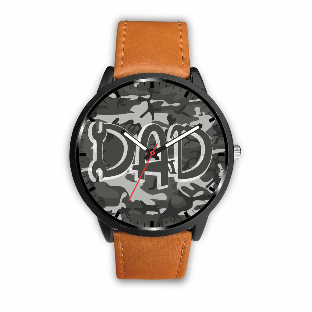 Cool Camo Construction Dad Watch