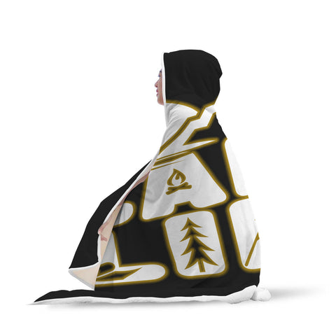 Image of Camp Life Hooded Blanket