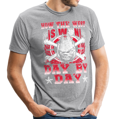 Image of Unisex Tri-Blend T-Shirt - heather gray