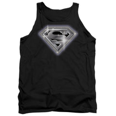Superman - Bling Shield Adult Tank