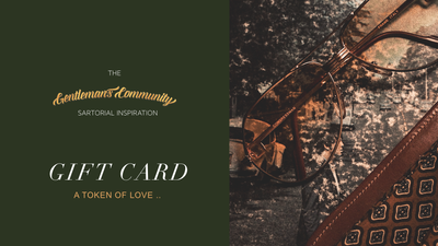 The Gentleman's Community Gift Card - The Gentleman's Community