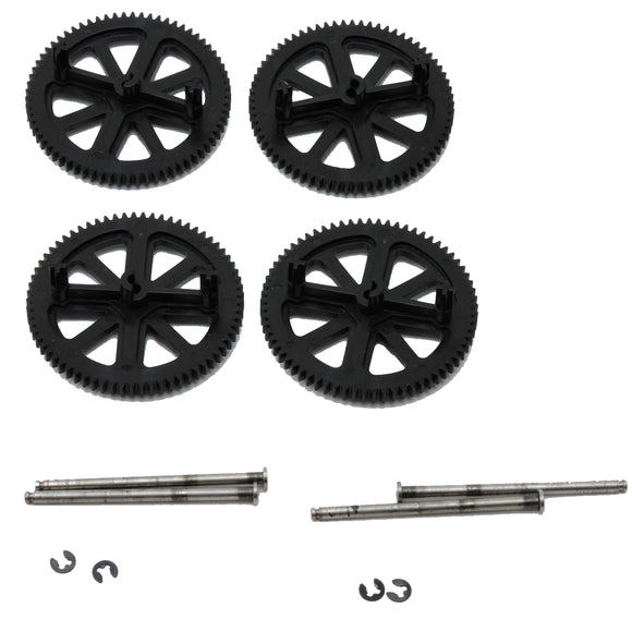 Parrot Ar.Drone 2.0 4 Spur Gears, Motor Shafts New
