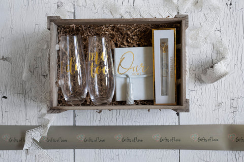 "Bridal + Wedding Gifts- ""Something Borrowed, Something Blue"""