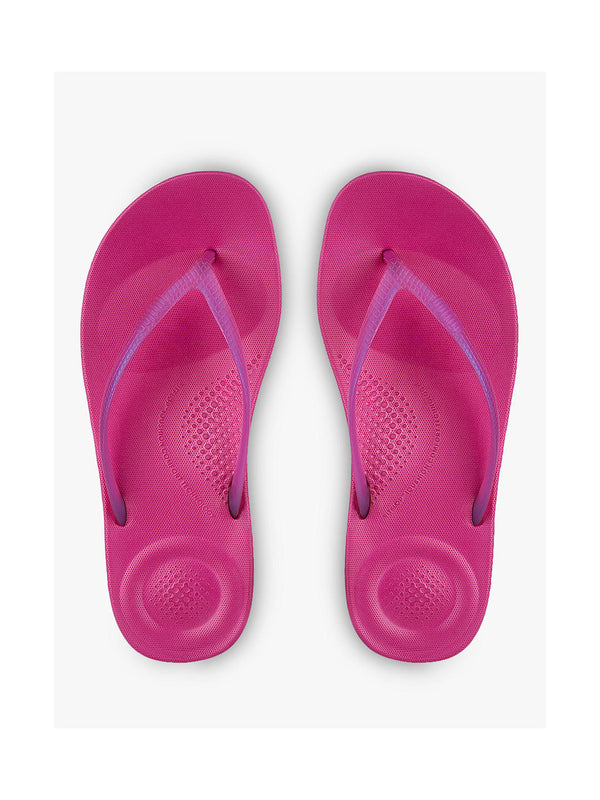 FitFlop IQushion Pearlised Flip flops - Psychedelic Pink - Lucks of Louth