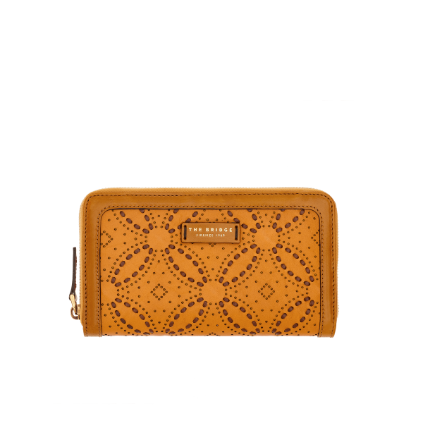 The Bridge 0175184V Womens Wallet - Yellow Gold - Lucks of Louth