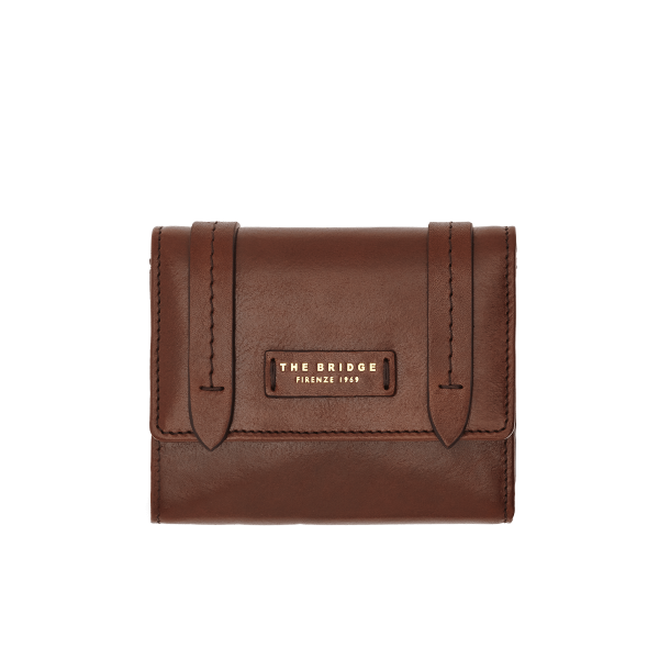 The Bridge Fold over Purse 01780001 - Col 14, Brown - Lucks of Louth