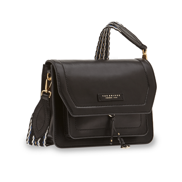 The Bridge 04.2929.01 Shoulder Bag Tracolla - Black - Lucks of Louth