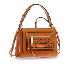The Bridge 043229Y6 Flap-Over Multiway Handbag - Colour 15 Cognac Gold - Lucks of Louth