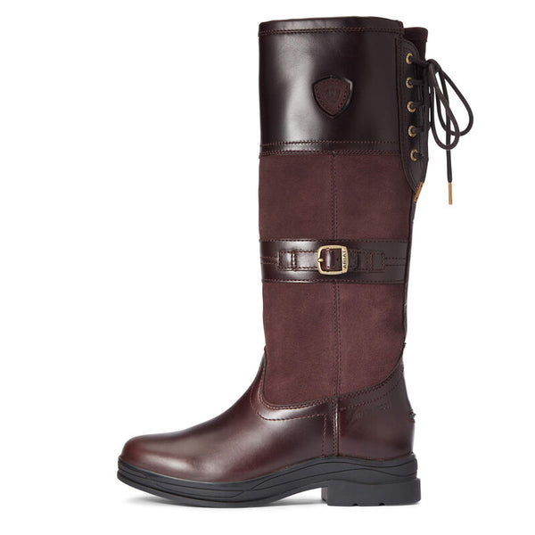 Ariat Langdale Waterproof Boot - Waxed Brown - Lucks of Louth