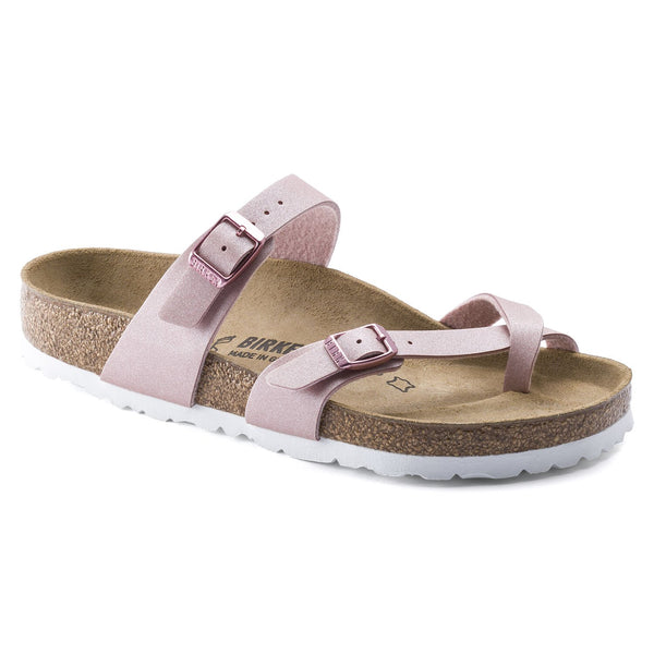 Birkenstock Mayari, Regular Fit - Metallic Old Rose - Lucks of Louth