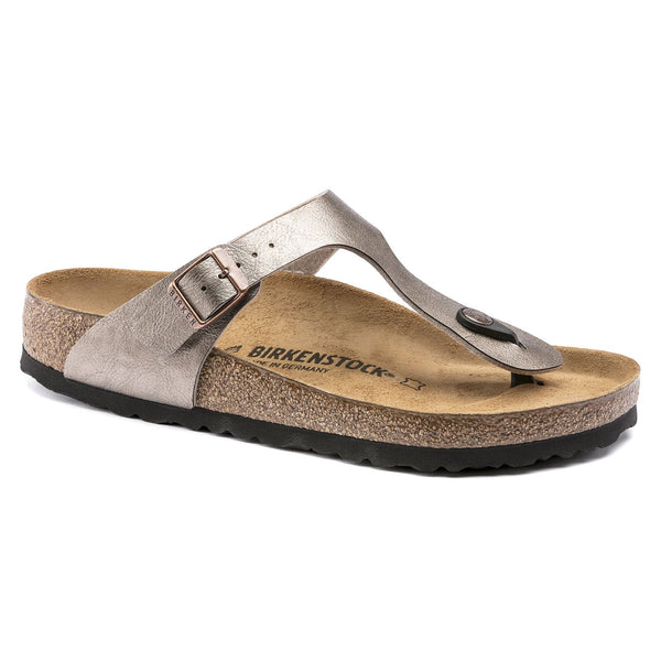 Birkenstock Gizeh Toe Post Sandal - Gold - Lucks of Louth