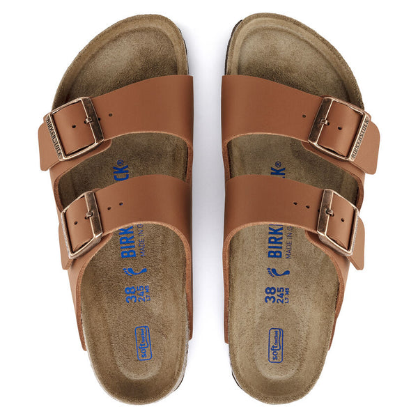 Birkenstock Arizona Sandal - Ginger Brown - Lucks of Louth