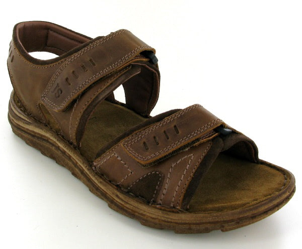 Josef Seibel Raul 19 Sandal - Castagne (Brown) - Lucks of Louth