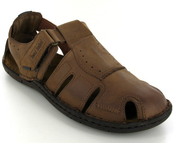 Josef Seibel Paul 15 Sandal - Brasil (Brown) - Lucks of Louth