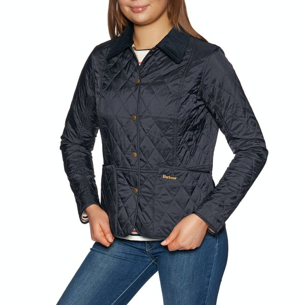 Barbour Summer Liddesdale Quilt - Navy - Lucks of Louth