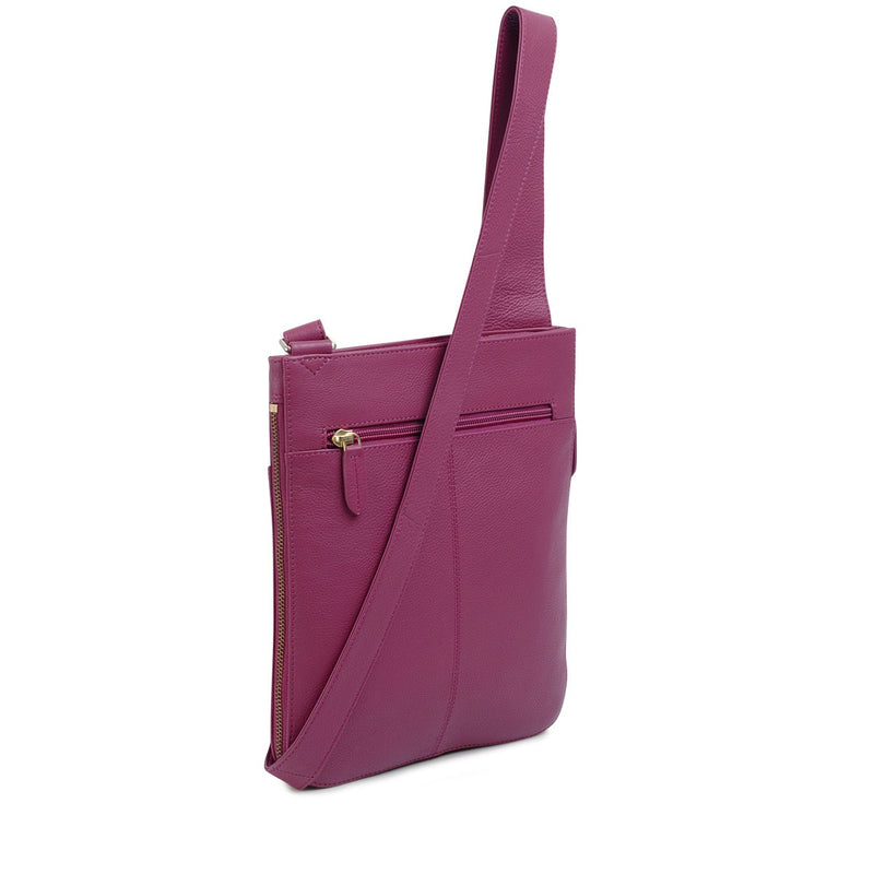 Radley London Medium Zip Top Cross Body Pocket Bag - Magenta Pink - Lucks of Louth