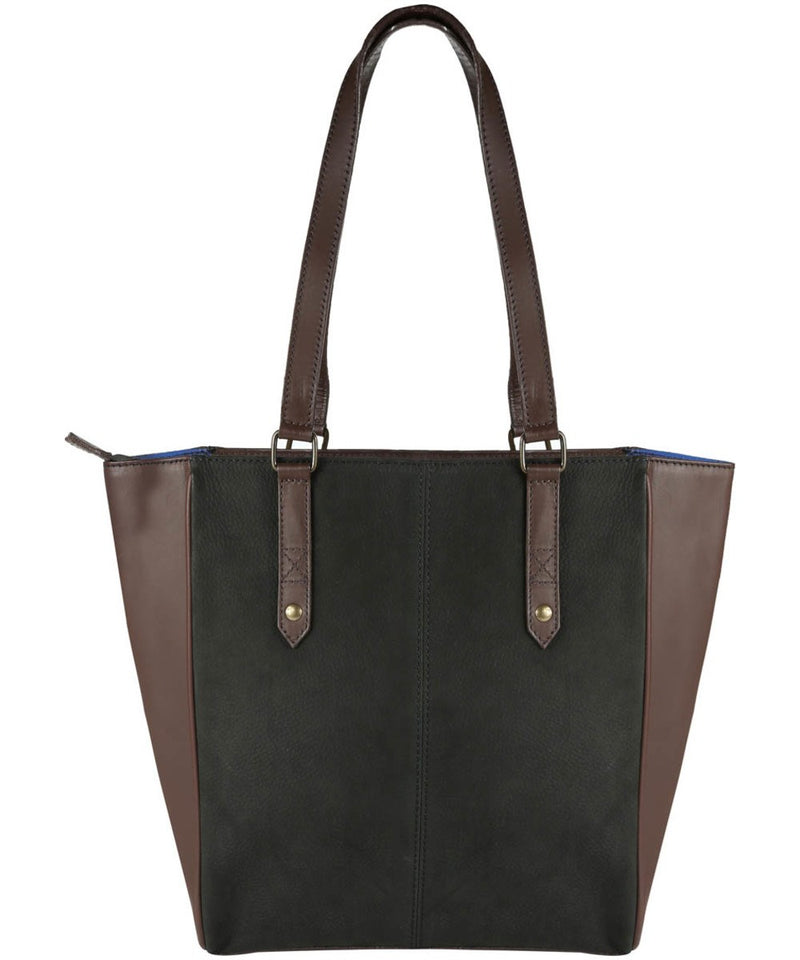 Dubarry Bandon Tote Bag - Black/Brown - Lucks of Louth
