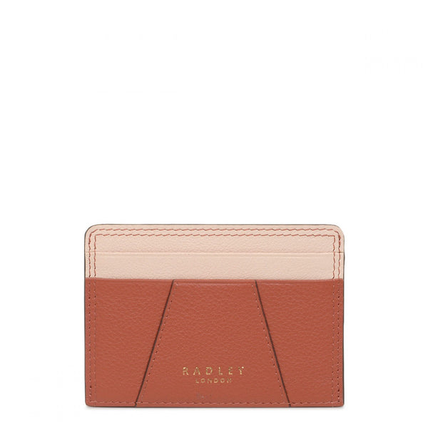 Radley Wood Street Card Holder - Auburn (Orange) - Lucks of Louth