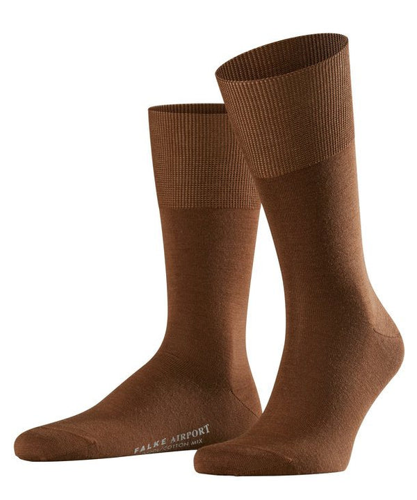 Falke Airport Socks - Deer (Mid-Brown) - Lucks of Louth