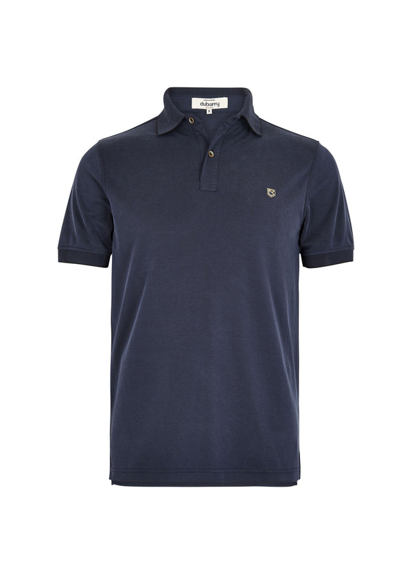 Dubarry Rockrook Polo Shirt - Navy - Lucks of Louth