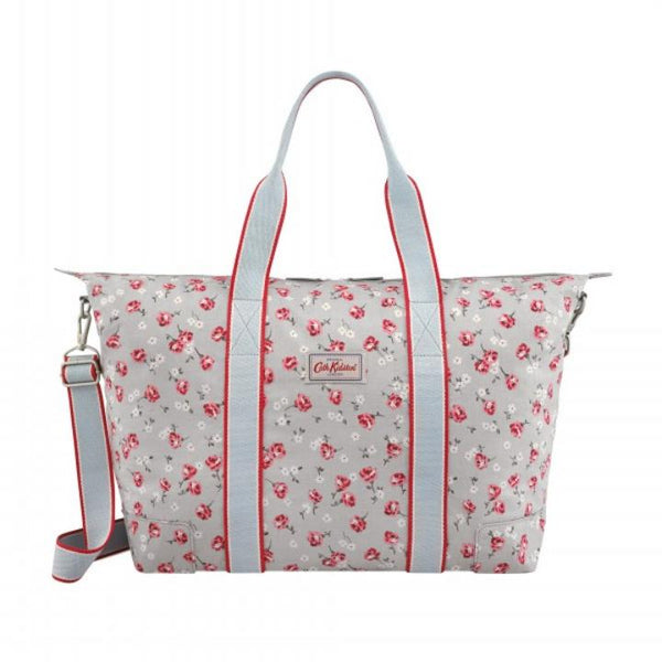 Cath Kidston Dulwich Sprig Overnight Bag - Soft Blue - Lucks of Louth
