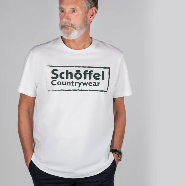 Schoffel Heritage T-Shirt - White - Lucks of Louth