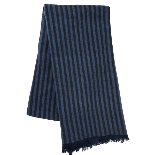 Schoffel Moor Scarf - Navy (Unisex) - Lucks of Louth