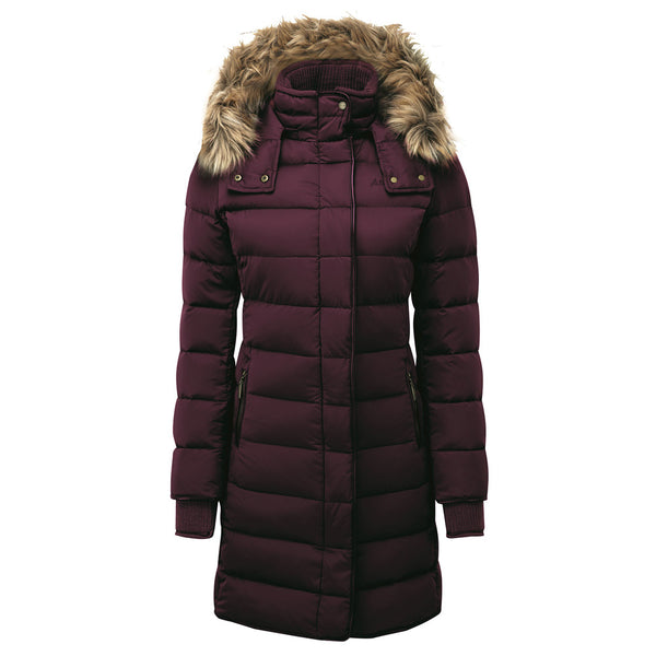 Schoffel Mayfair down coat - Fig - Lucks of Louth