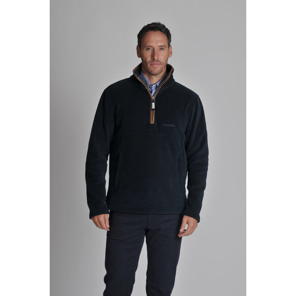 Schoffel Berkeley 1/4 Zip Fleece - Navy - Lucks of Louth