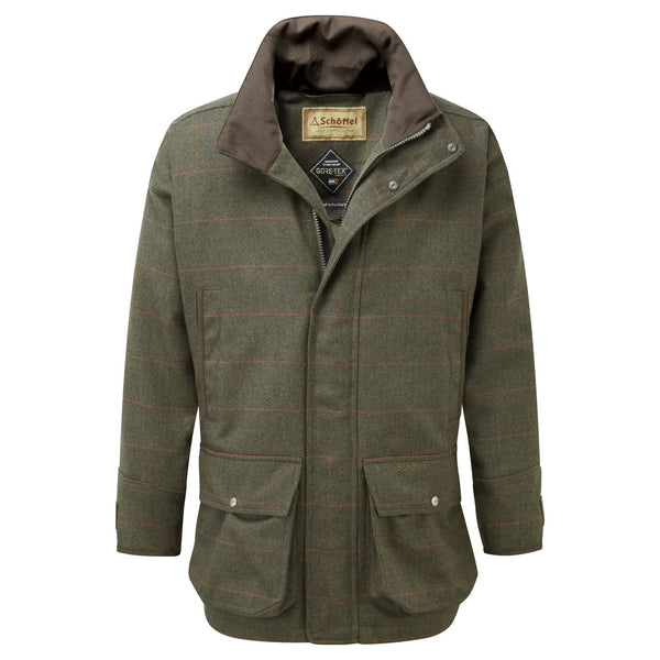 Schoffel Ptarmigan Tweed Coat - Windsor Tweed - Lucks of Louth