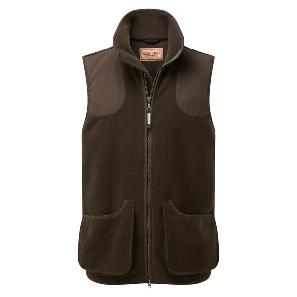 Gunnerside Shooting Vest - Dark Olive - Lucks of Louth