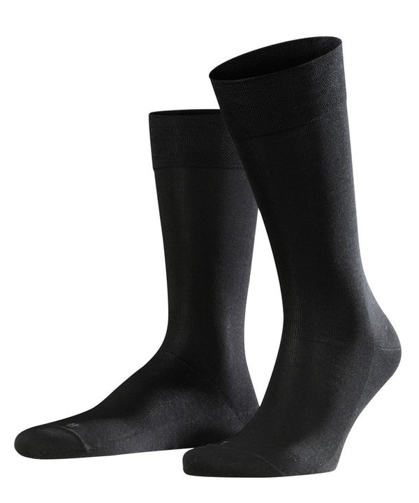 Falke Sensitive Malaga Socks - Black - Lucks of Louth