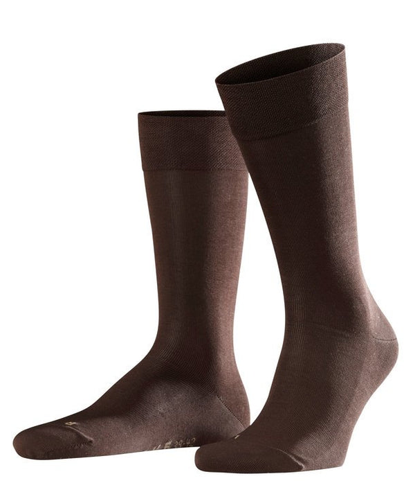 Falke Sensitive Malaga Socks - Brown - Lucks of Louth