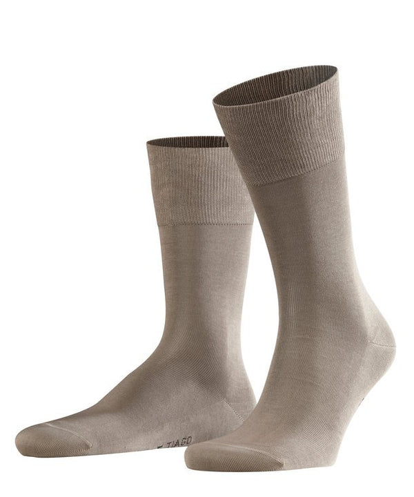 Falke Tiago Socks -Volcano (Mid-Brown) - Lucks of Louth