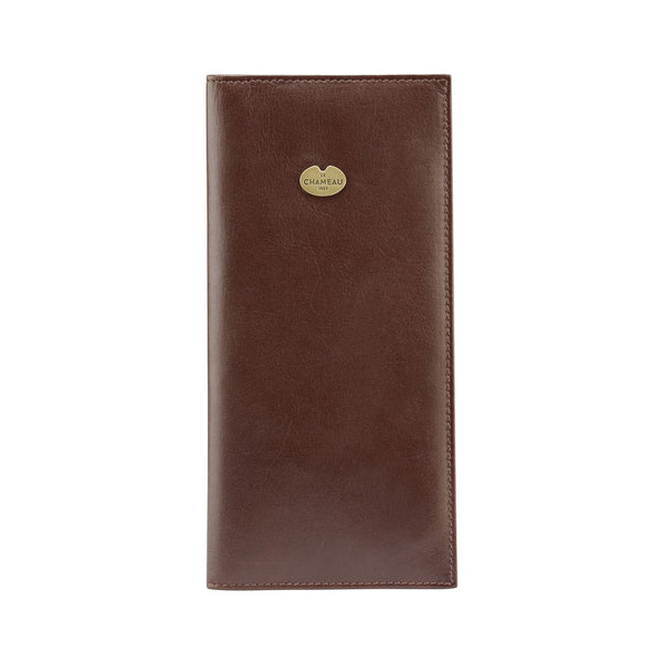Le Chameau Leather Licence Holder - Marron Fonce (brown) - Lucks of Louth