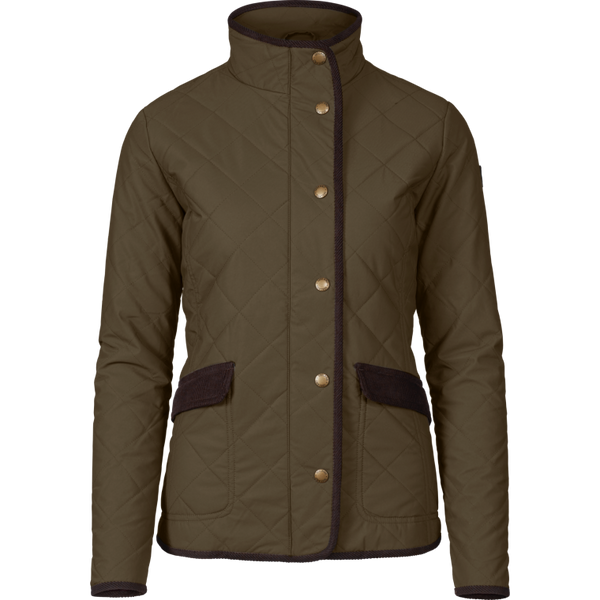 Seeland Womens Woodcock Quilt Advanced Jacket - Shaded Olive - Lucks of Louth
